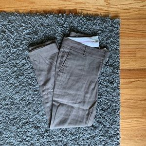 BANANA REPUBLIC slim leg pants